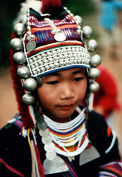Enfant tribue karen