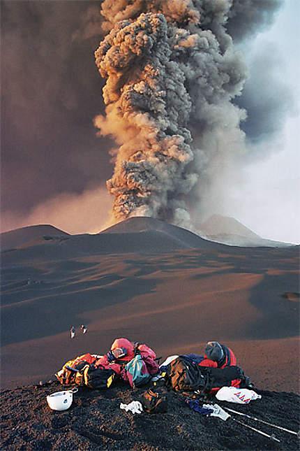 Eruption octobre 2003