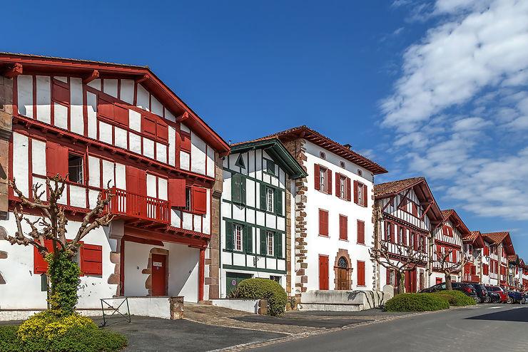 Des villages tout en couleurs