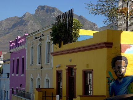 Maisons colorés de Bo-Kaap