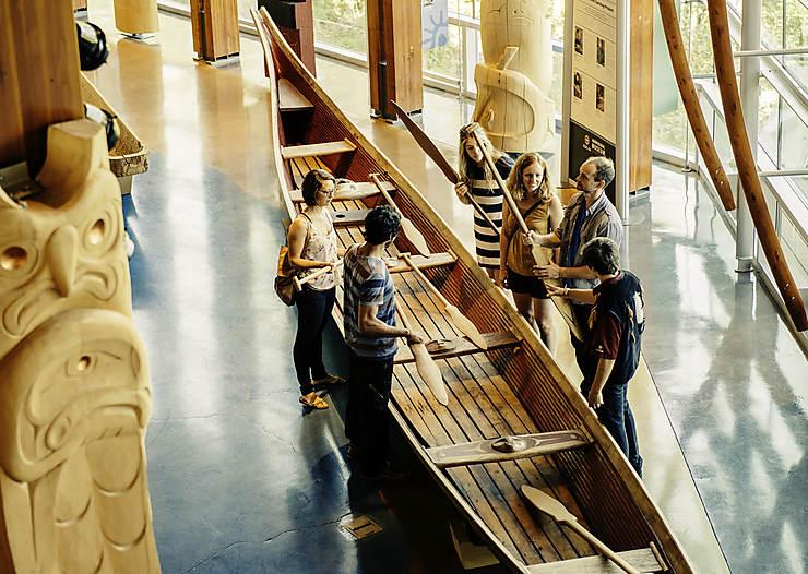 Le centre culturel Squamish Lil'Wat à Whistler