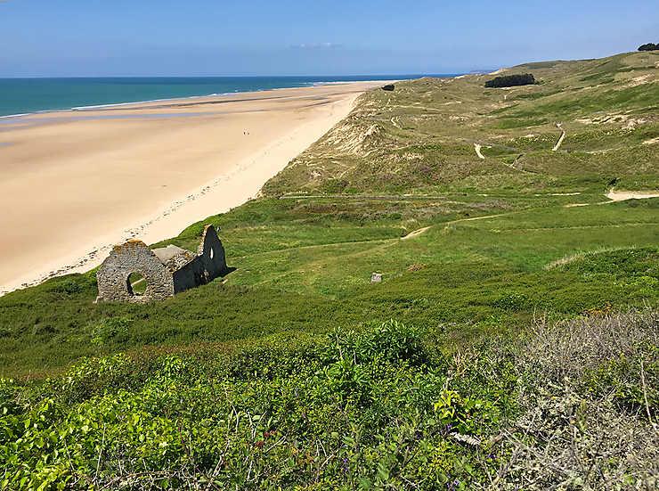 La côte des Isles, côté mer