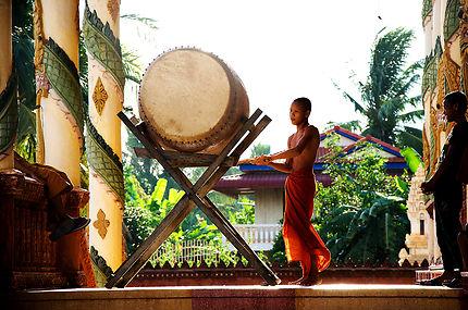 Jeune moine au tambour