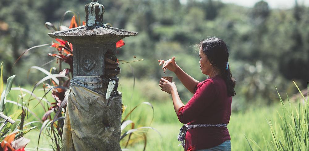 Qui a dit que Bali était trop touristique ?