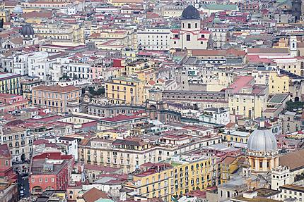 Les toits de Naples