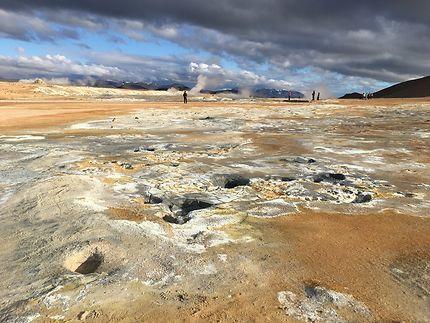 Merveilles géologiques au Lac Mývatn