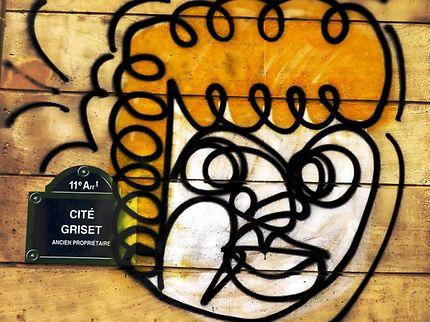 Graffiti Cité Griset