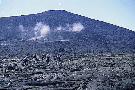 La marche vers le volcan