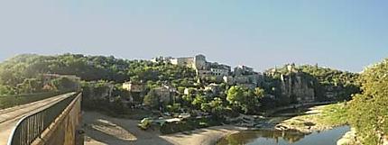Balazuc, panoramique