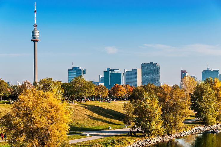 Vienne - La Tour du Danube entièrement rénovée