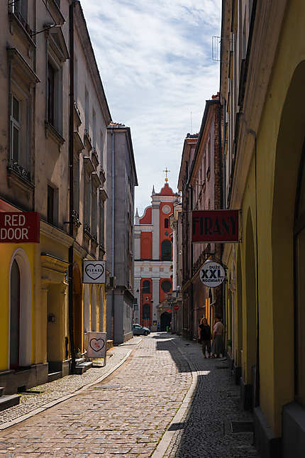 Dans le Vieux Kalisz