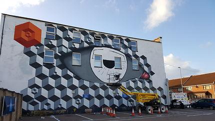 Street Art under construction