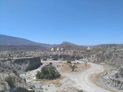Fort Bravo, désert de Tabernas, Andalousie