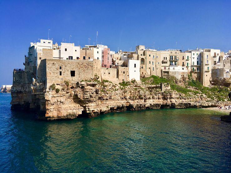 Polignano a Mare et Monopoli, au bord de l'Adriatique