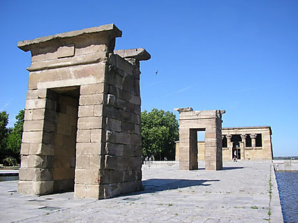 Le temple de Debod à Madrid