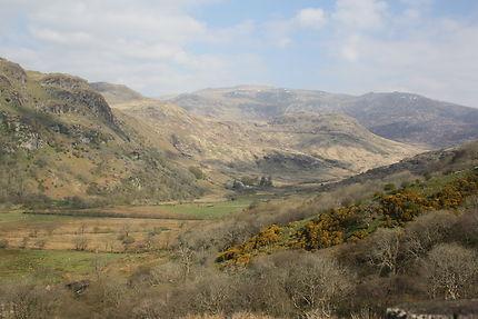 Magnifique paysage du Snowdonia Park