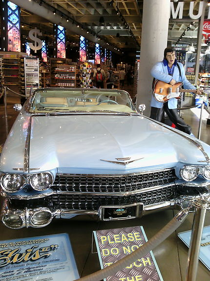 La voiture d'Elvis Presley