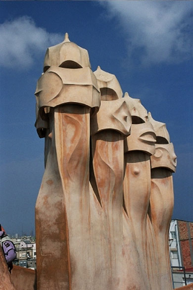 Soldats de Gaudi