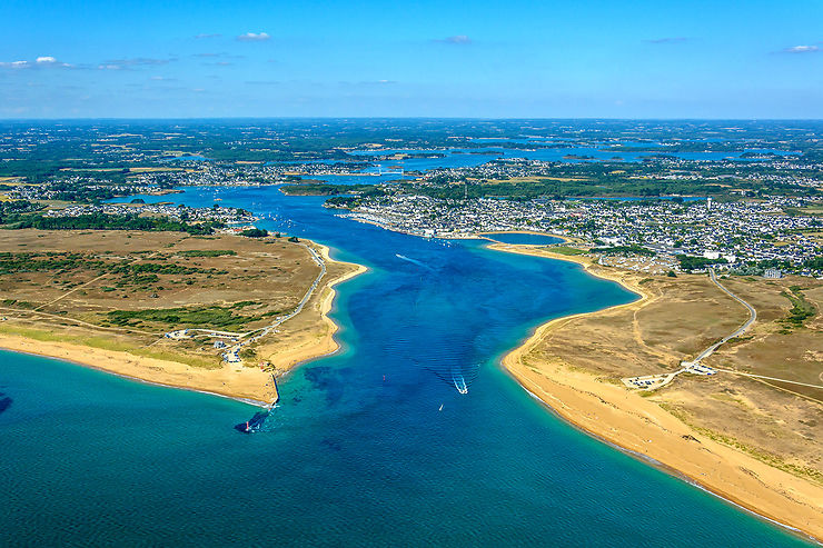 Morbihan : la ria d'Étel, une mer au milieu des terres