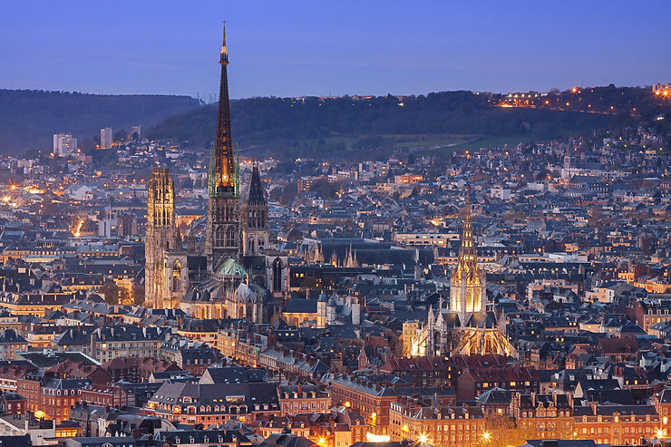 Rouen et sa cathédrale (Seine-Maritime)