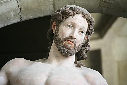Christ ressucité détail François Gentil