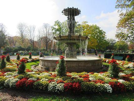 Fontaine du square Marigny