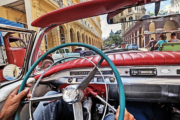 Come-back à La Havane