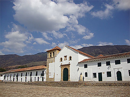 L'église de Villa de Leyva