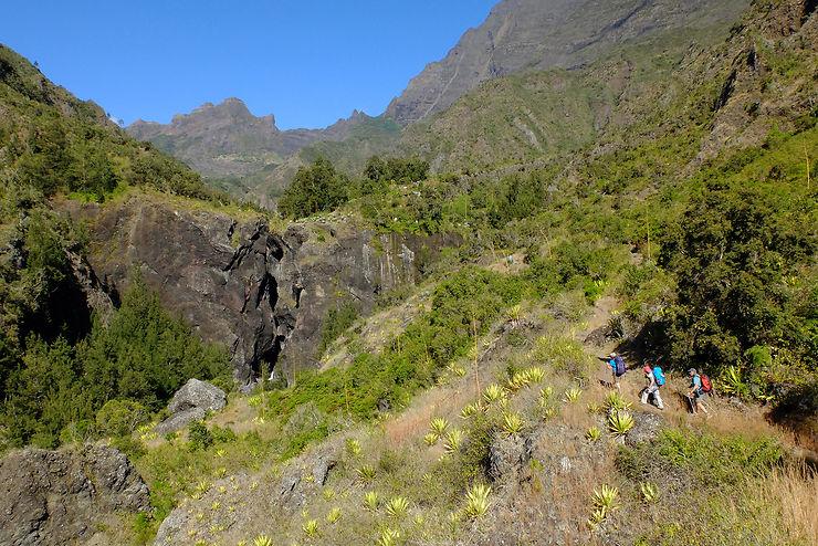Réunion : trek de Mafate au Dimitile, sur les traces des marrons