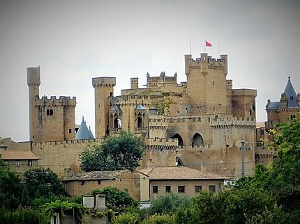 Olite : le château des rois de Navarre