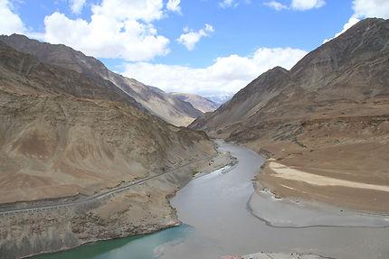 Rencontre du Zanskar et de l'Indus