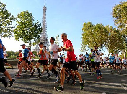 Les 20 kilomètres de Paris, Place d'Iena