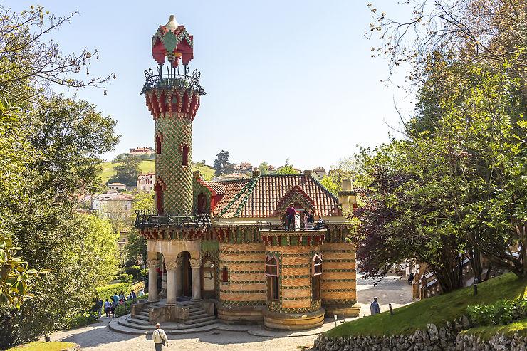 El Capricho à Comillas : sur les traces de Gaudí