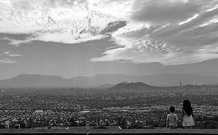 Vue sur Santiago