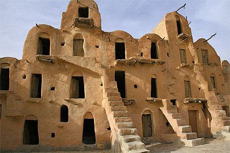 Tunisie guide de voyage tunisie for Architecture troglodyte