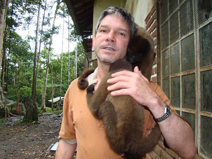 Puyo : l'homme qui murmure à l'oreille des singes