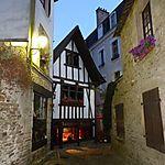 Maisons très anciennes à Quimperlé