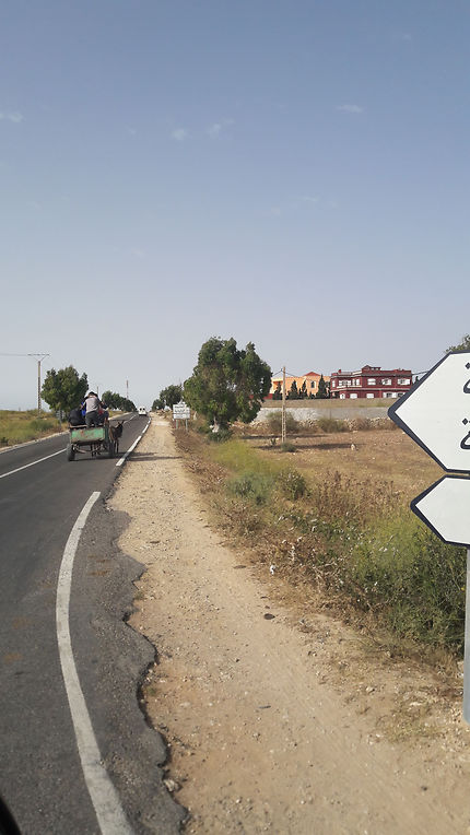 Route au Maroc