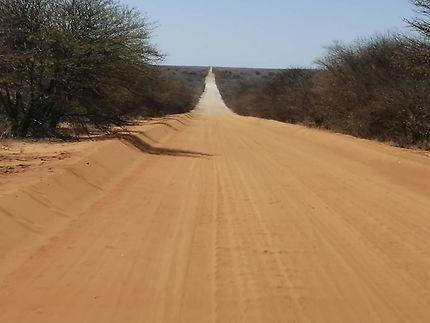 Ma direction en Afrique du Sud