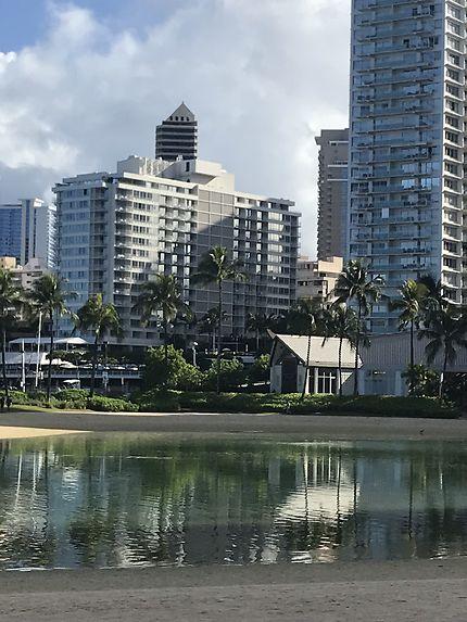 Reflets à Waikiki...