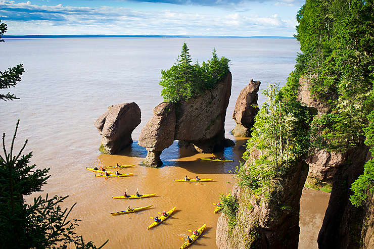 Parc national de Fundy - Nouveau-Brunswick