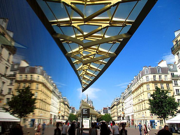 Reflets, Les Halles