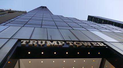 Aux portes de la Trump Tower