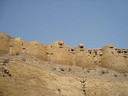 La citadelle de Jaisalmer, la ville dorée