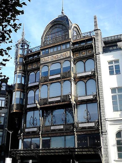 Le musée des instruments de musique à Bruxelles