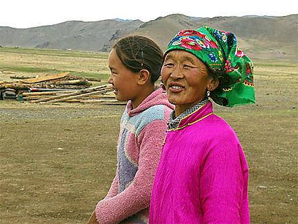 Nomades mongoles