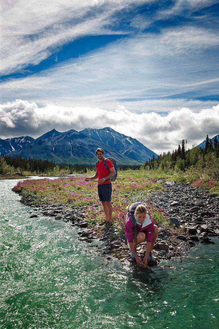 Parc national et réserve de parc national de Kluane - Yukon