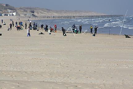 La plage de Calais et ses multi activités