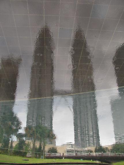 Reflet de twin towers