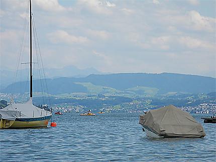 L'été au lac de Zürich
